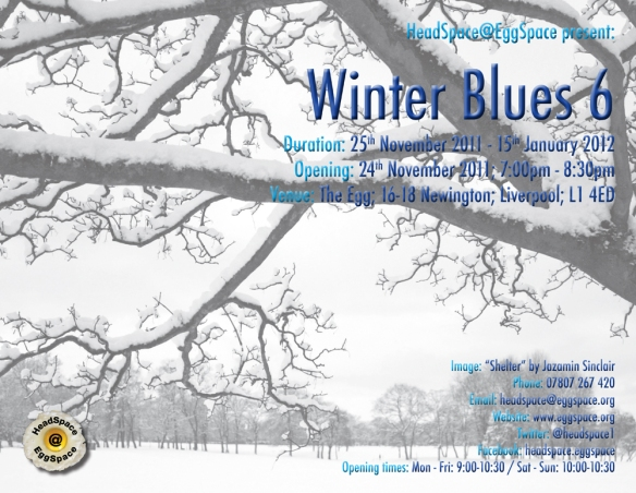Winter Blues 6 Curated by HeadSpace@EggSpace