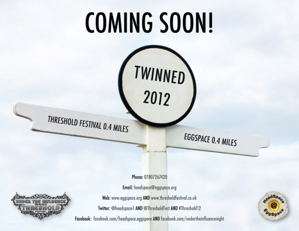 Twinned 2012 in association with Threshold Festival